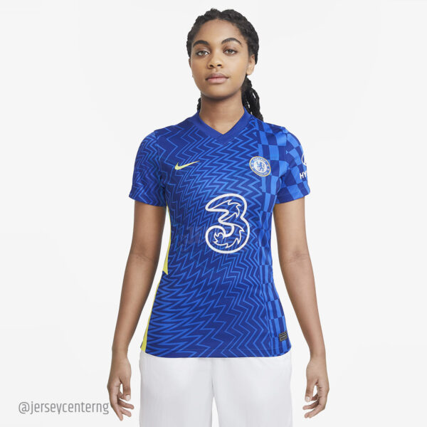 Chelsea FC 2021/22 Home Jersey for Women
