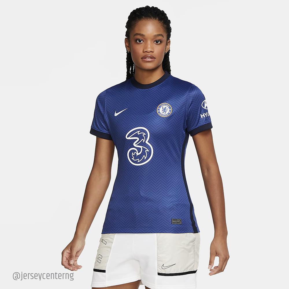 Chelsea Fc 2020 21 Women S Home Jersey Buy Jersey Online In Nigeria
